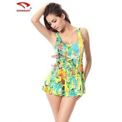 Women Spandex Push Up Wireless Halter One Pieces Swimming Accessories Cover Ups VS009