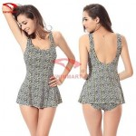 Women Spandex Push-up/Wireless Halter One-pieces/Swimming Accessories/Cover-Ups VS009