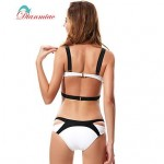 Sexy Bikini Straps Swimwear Nz Two Back Buckle Women's Swimsuit Nz Padded BK-23
