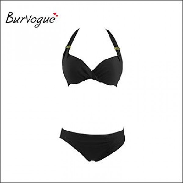 Burvogue Women's Diving Suit Material-neoprene Bikini Set Swimsuit Nz Swimwear Nz