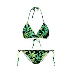 Womens Beach Style Mini Bikini Swimming Suit