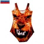 Nzswimwear®Women's Swimwear Nz Fashion 3D Monster Print Sexy Bodycon One-piece Swimsuit Nz Casual Siamesed Underwear