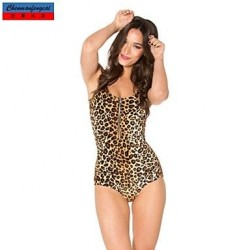 Nzswimwear®Women's Swimwear Nz Fashion Leopard Print Sexy Bodycon One-piece Swimsuit Nz Casual Siamesed Underwear