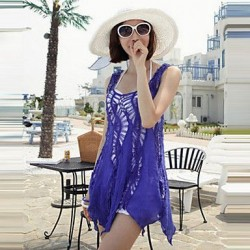 2019 fashion swimwears bathing suit cover ups sexy crochet blue lace pareo beach dress summer bikini swimsuit cover up