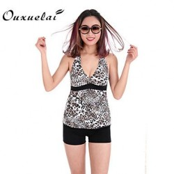 Womens Wireless Padded Bras Floral Dot Ruffle Solid Bandage Bandeau Tankinis Nylon Polyester