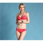 Women's Underwire Bra Solid Halter Tankinis (Cotton/Nylon)