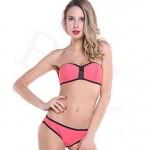 2019 Lady Summer Style Fashion 2pcs Sexy Bikini Triangl Biquini Swimsuit Nz Beachwear Bikini Triangl Neoprene Bikini