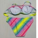 Nzswimwear®Women's Underwire Bra/Padless Bra Color Block/Floral/Solid/Geometric Halter Bikinis (Nylon/Spandex)