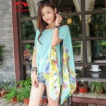 Women's Floral Halter Cover-Ups (Polyester)SM7A06
