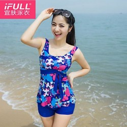 Women's sexy fashion flowers Big Size Swimsuit Nz