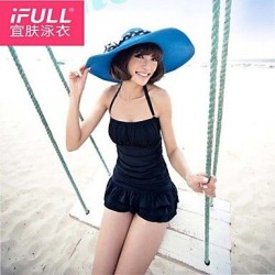 Woman sexy swimsuit fashion color cake skirt