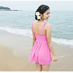 Woman fashion sexy candy colored swimsuit