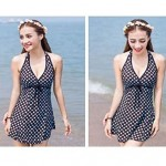 Woman fashion sexy swimsuit Coffee color