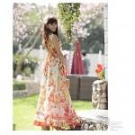 Nzswimwear® Woman's The new high emulation silk waist thin chiffon dress A word brought the Bohemian beach dress