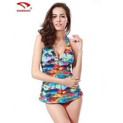 Women Spandex Padded Bras Tankinis Multi Pieces Swimming Accessories Cover Ups