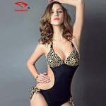 Women Nylon/Polyester/Spandex Wireless/Padded Bras Halter Bikinis/One-pieces/Swimming Accessories/Cover-Ups SMZM15