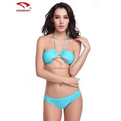 Women Nylon Wireless/Padded Bras Halter Bikinis/Tankinis/Multi-pieces/Swimming Accessories/Cover-Ups