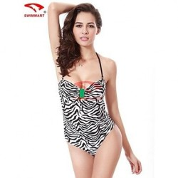 Women Nylon/Spandex Push-up Halter/Straped One-pieces/Swimming Accessories/Cover-Ups VS008B