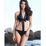 Women Polyester Push-up/Wireless/Padded Bras Halter Bikinis/Tankinis/Swimming Accessories/Cover-Ups MSSY36