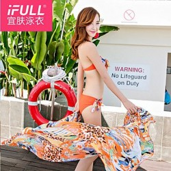 Fashion sexy woman flower butterfly Bikini new swimsuit