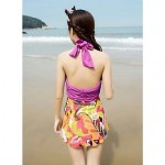 The new skirt woman swimsuit fashion flowers