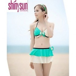 Womens Underwire Bra Solid Straped Multi Pieces Acrylic Polyester