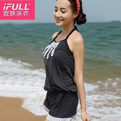 Women's leisure fashion cute POLKA DOT SWIMSUIT