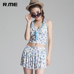 R.ME France 2019 printing Bikini set Sexy Beach Wear Swimwear Nz sandbeach Set printing swimsuit