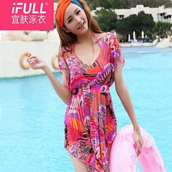 women fashion sexy swimsuit new flowers