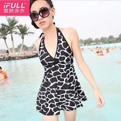 Woman fashion sexy dress style bathing suit