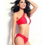 Women Polyester/Spandex Push-up/Wireless/Padded Bras Halter Bikinis/Tankinis/Cover-Ups MSSY51