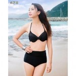 Women Cotton Blends/Organic Cotton Padded Bras/Underwire Bra Bikinis/Multi-pieces