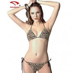 Women Nylon/Polyester/Spandex Push-up/Wireless/Padded Bras Halter Bikinis/Tankinis/Cover-Ups SMZM01