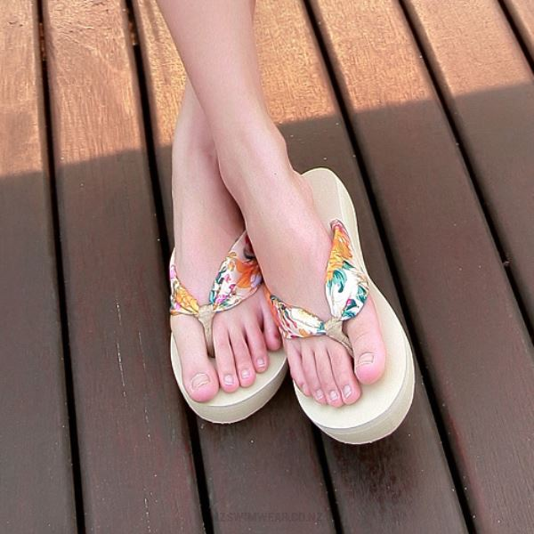 Beach Slippers Flip Flops Bohemia Holiday Slippers WomenS