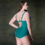 WomenS Swimwear Steel Ring Pure Colour One Piece Swimsuits For Big Girls Plus Size Swimwear WomenS