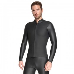 3Mm Diving Suit Man Two Piece Long Sleeves Waterproof Snorkeling Suit Warm Winter Swimming Diving Suit Swimwear Man
