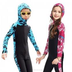 Sun Protective Children Swimwear Children Diving Suit Boy Girl Sun Protective Clothing Sun Protective Dive Skin 1011