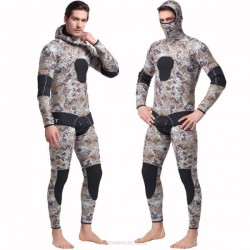 5Mm Sun Protective Surf Suit Warm Winter Swimming One Piece Dive Skin Long Sleeves L Two Piece Swimwear Thicken Jellyfish Suit
