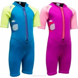 2Mm Diving Suit Children Boy Girl Sun Protective Surfing Thicken One Piece Warm Thicken Children Swimwear