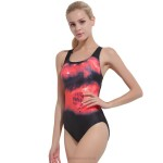 Cover Belly Tankinis Skinny Plus Size Race Swimwear Women One Piece Sport Professional Swimsuits