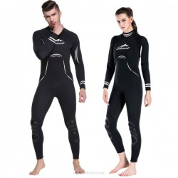 Couples One Piece Diving Suit One Piece 3Mm Warm Surfing Man Womens Long Sleeves Dive Skin