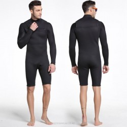 3Mm Diving Suit Man Dive Skin Long Sleeves Sun Protective Swimwear One Piece Snorkeling Suit Warm Surf Suit
