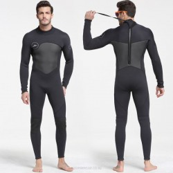 Man Rubber 5Mm One Piece Diving Suit Warm Surfing Swimwear