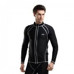 Equipment Long Sleeves Warm Man Diving Suit Surfing Sun Protective Swimwear Dive Skin Suit 708