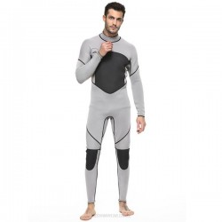 Man 3Mm One Piece Diving Suit Thicken Warm Winter Long Sleeves Dive Skin