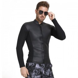 Two Piece Long Sleeves 3Mm Thicken Diving Suit Man Waterproof Warm Winter Swimming Diving Suit